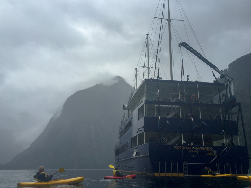 Fiordland Expeditions overnight cruise with Real Journeys