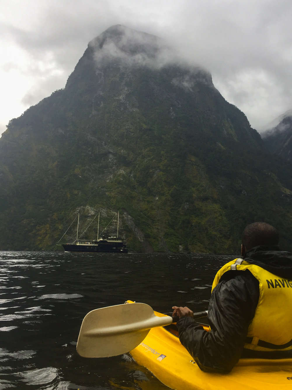 Doubtful Sound weather varies, but you'll always get a great photo!