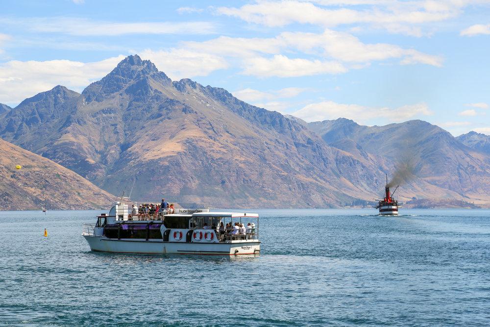 Beautiful boats of Lake Wakatipu