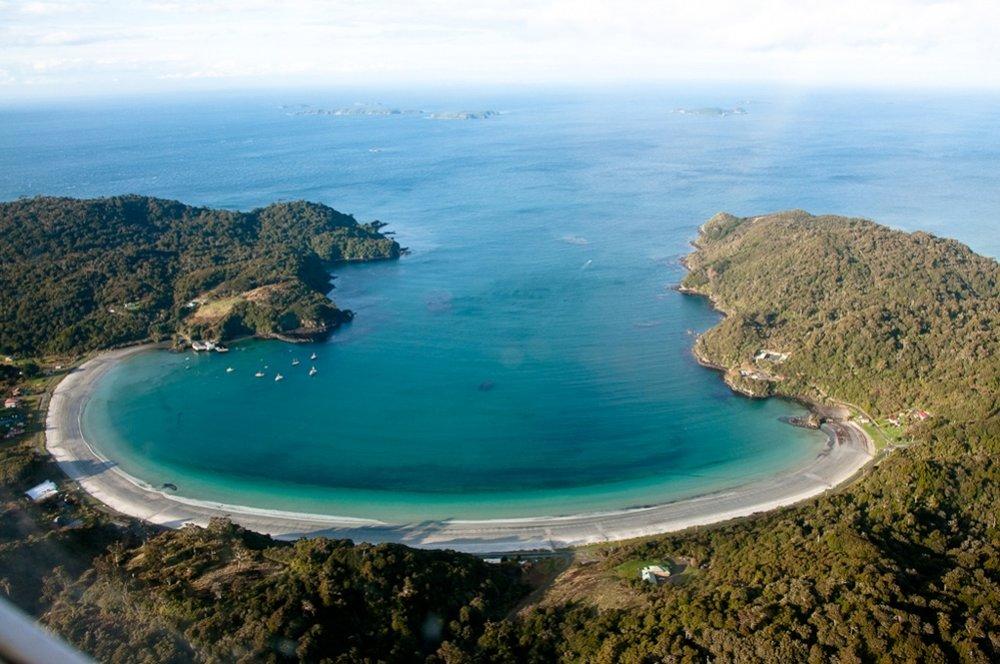 Great shot of one of Stewart Island's many beautiful beaches from  Gotta Love NZ