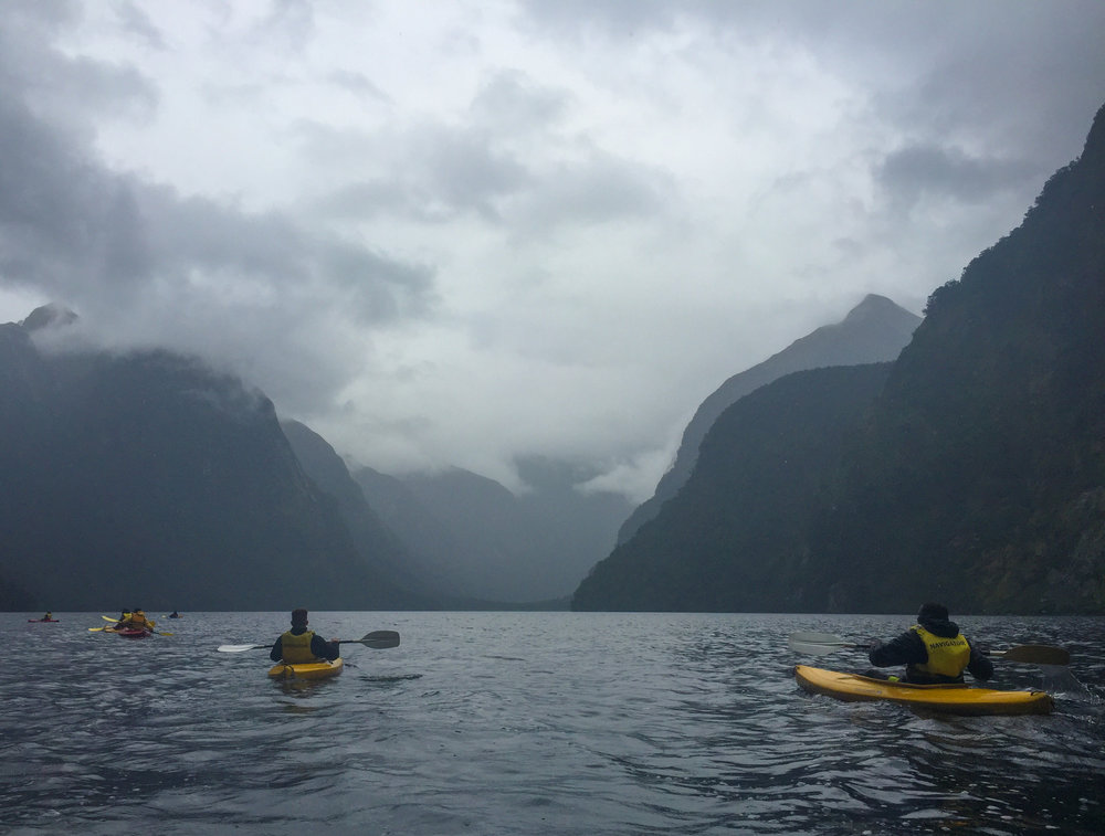 """When you think about spending, think """"Can I better use this in Doubtful Sound?"""""""