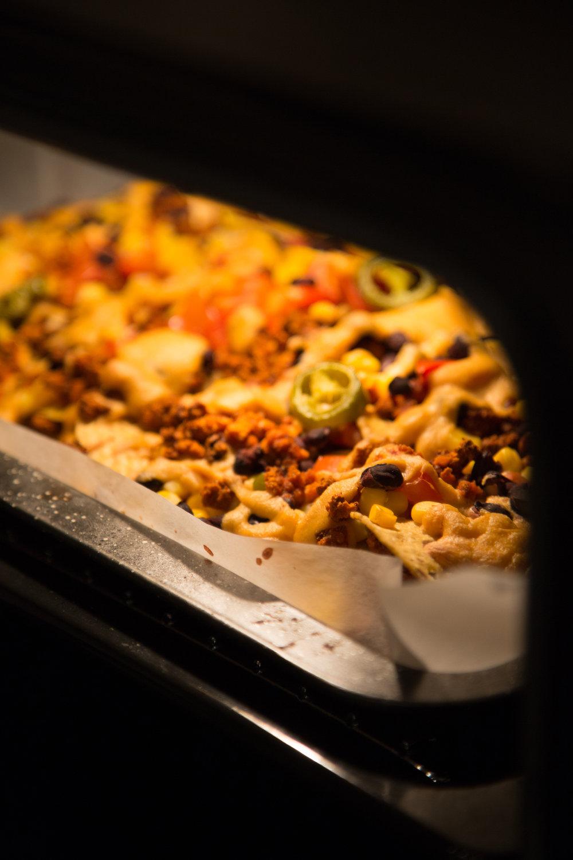 Nachos in oven.jpg