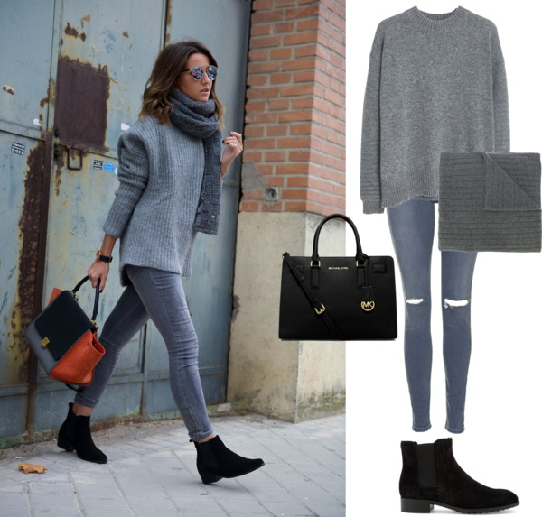 Grey Sweater + Skinny Jeans + Booties.jpg