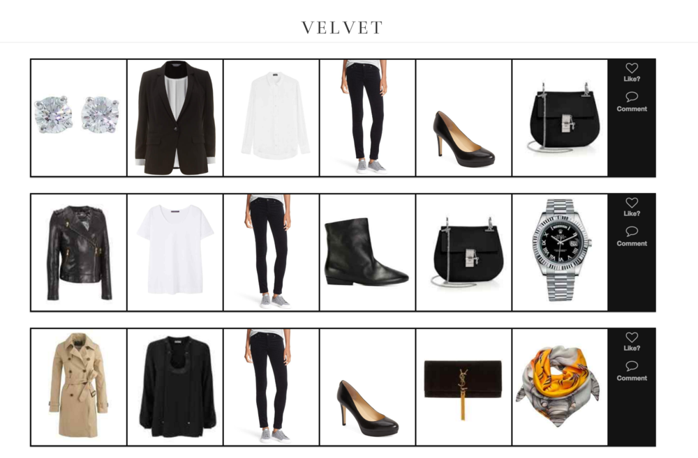 Three Ways to Style Velvet Pants
