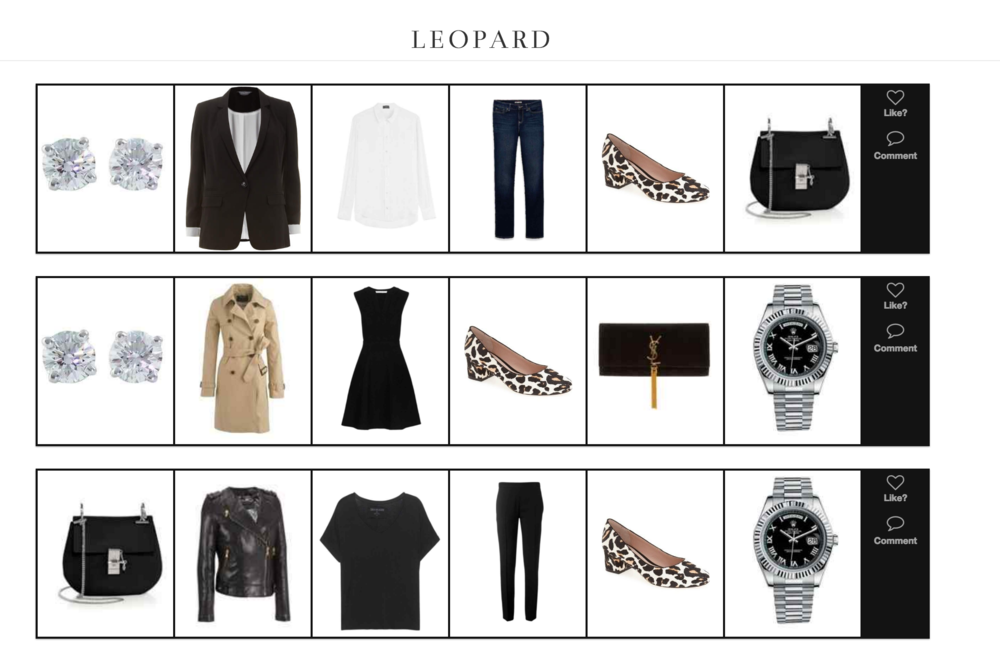 Three Ways to Style Leopard Heels