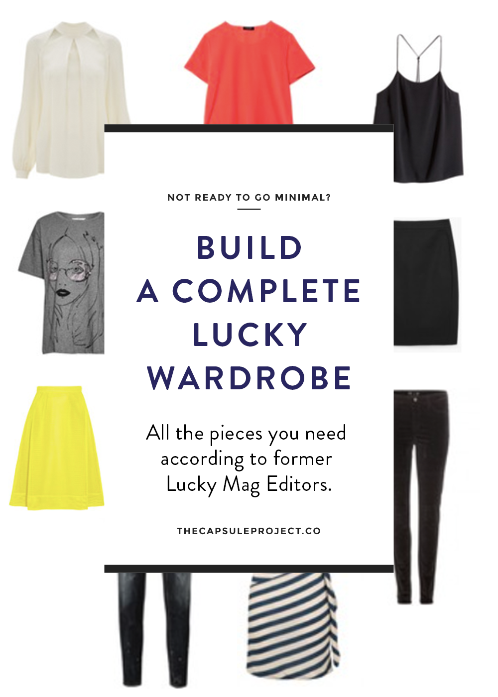 Not ready for a capsule wardrobe but want to make sure your closet makes sense? Check out this complete wardrobe builder.