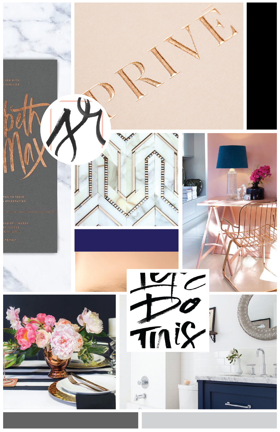The Capsule Project Moodboard by Hello Big Idea
