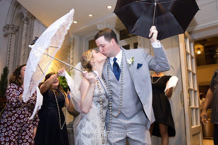 Baton Rouge New Orleans Louisiana Wedding Photographer Second Line