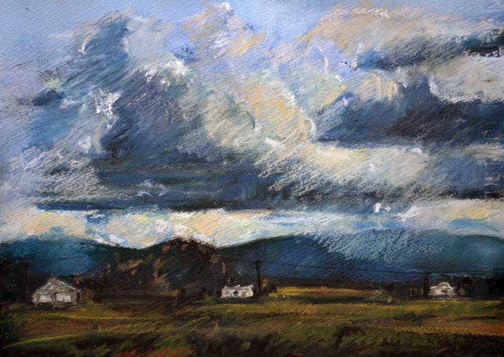 Storm Approaching, Pokolbin, 2016