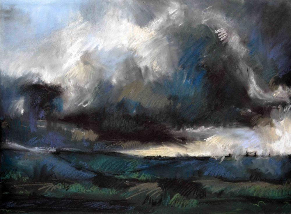 Autumn Storm on Teddy's Hill, 2016