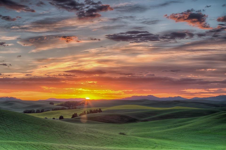 Heavenly Sunrise