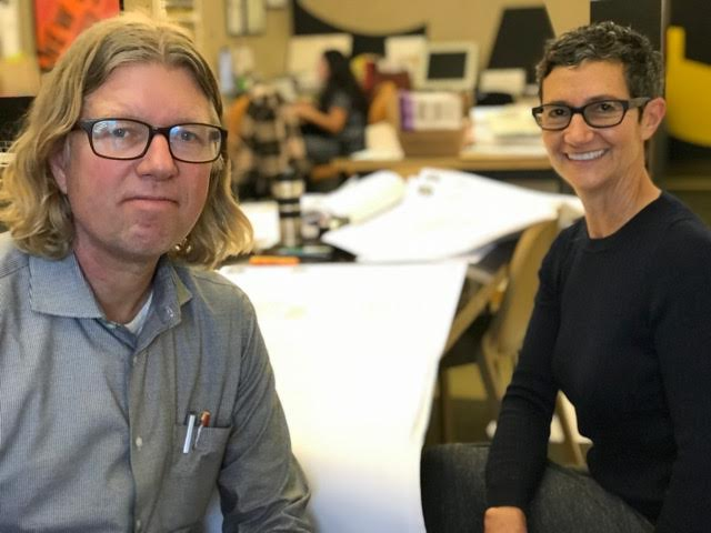 March Studio founders Todd Erlandson and Sherry Hoffman