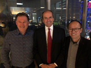 Dr Brent Allan, Dr Giuseppe Luongo &Professor Ming Hao Zheng
