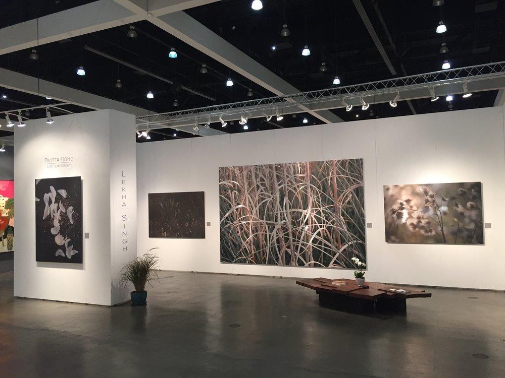 Lekha Singh _ Trotta-Bono Contemporary _ LA Art Show 1