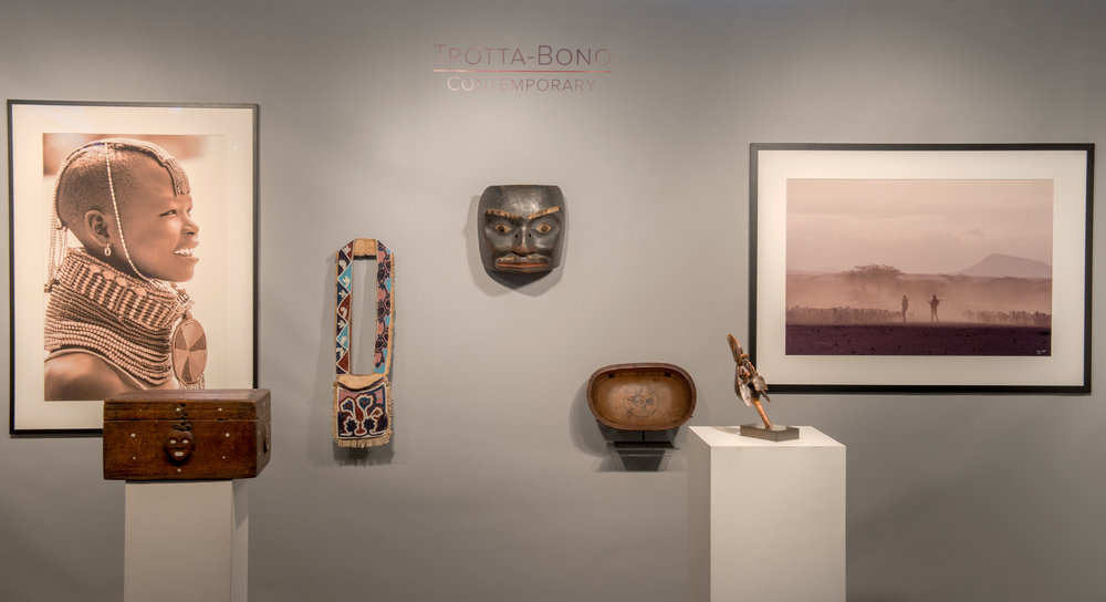 Lekha Singh _ Trotta-Bono Contemporary _ San Francisco Tribal art Show 1