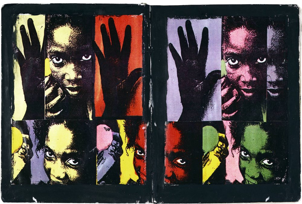 "Dan Eldon,  Hands, Lamu Girl , archival print, 1989, 30"" x 40"" edition of 25"