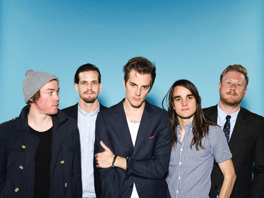 """The Maine is an American rock band from Tempe, Arizona. In their eight years together, The Maine has released four full-length albums, including their major label debut """"Black & White"""" in 2010. The band expanded their musical realm into production which resulted in their fourth EP, the self-recorded and produced """"Imaginary Numbers"""" (2013). Over the years, they have toured across the globe as well as extensively on home soil in the US; both as headliners and in support roles. The Maine has shared the stage with the likes of Taking Back Sunday, Anberlin, A Rocket To The Moon, Augustana, and many more. The band has made numerous festival appearances including the Vans Warped Tour, Bamboozle, and South by Southwest. The Maine is recognized within the industry for the close relationships they build and maintain with their fans -- many of whom are now college age and have grown up alongside the band. The Maine is John O'Callaghan, Pat Kirch, Kennedy Brock, Garrett Nickelsen, and Jared Monaco."""