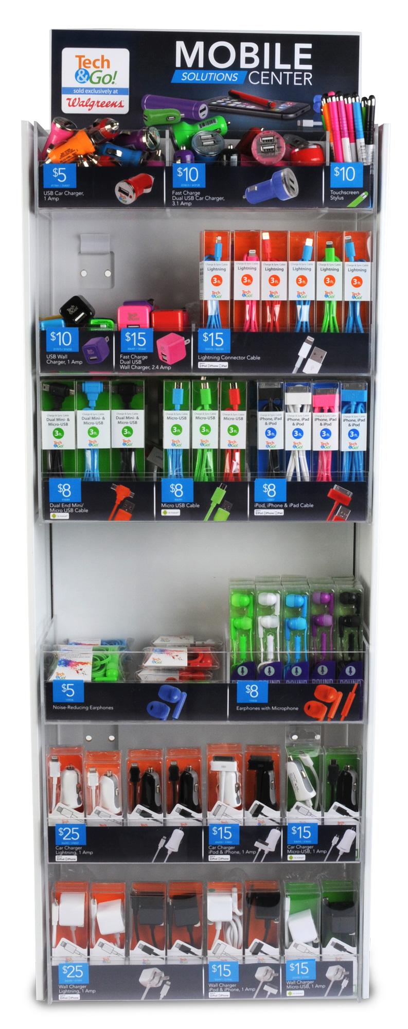 Tech & Go display. © E-filliate Inc.