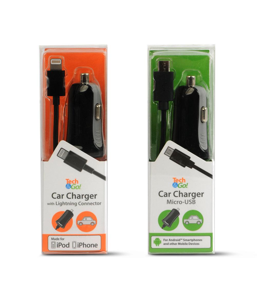 Tech & Go packaging. © E-filliate Inc.