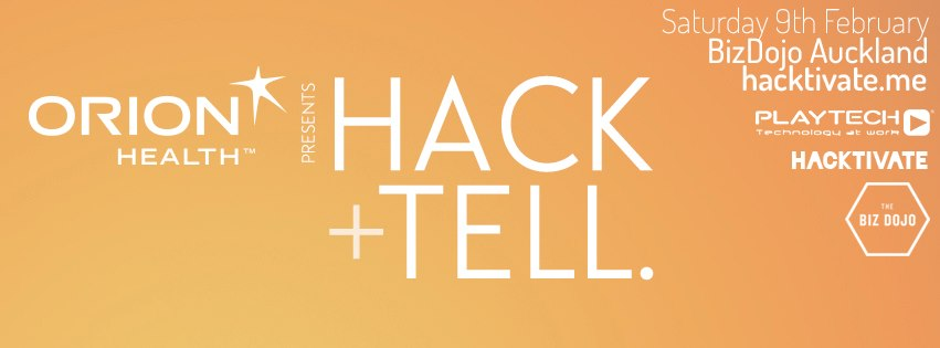 This Saturday at The BizDojo Auckland:   HACK+TELL   by Auckland residents  Hacktivate .    Register Now!