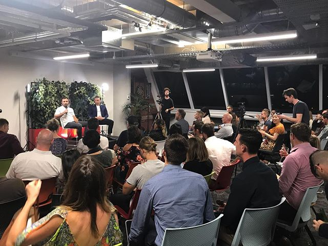 BizDojo Takapuna's event space cranking last night with a full house. Guest speaker @realanthonybaxter - CEO of Firefly kicking off the first session of the Startup Series!