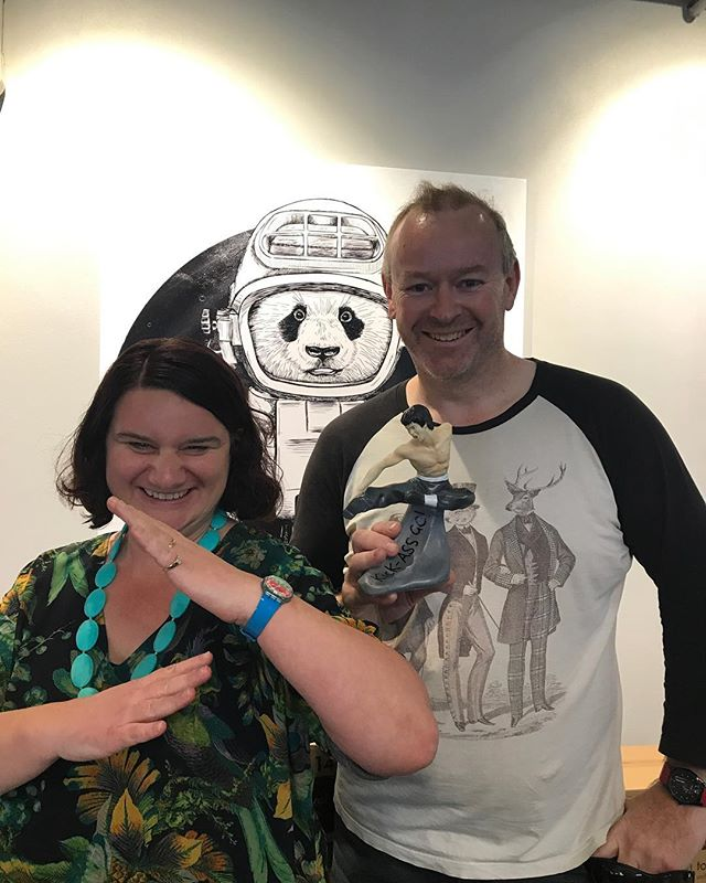 Our Tory Street monthly GC (greatest contributor) award goes to OG Dojo-heads Pauline & Dave. These two cats have been around since day one in Welly & have panda blood running through their veins! #wellyoriginals