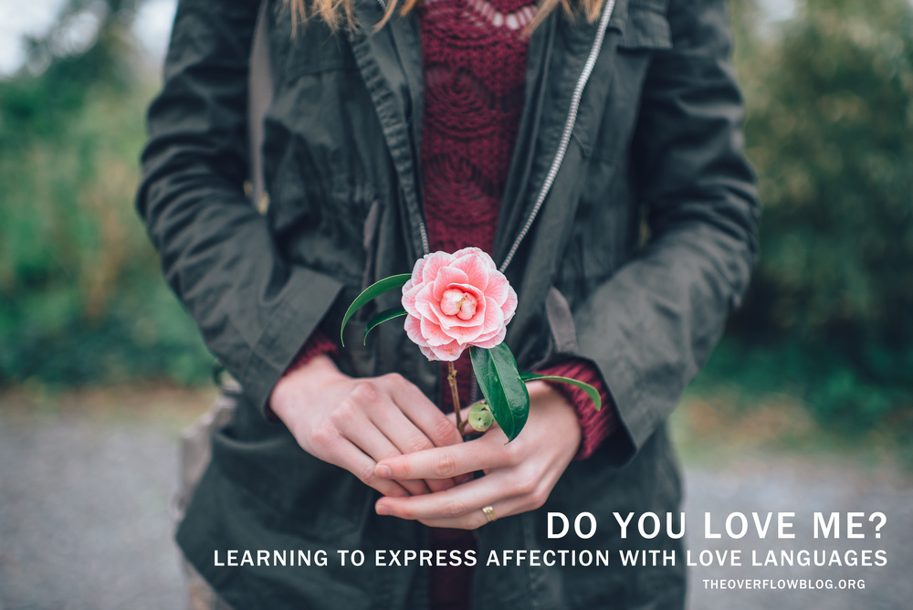 Do You Love Me? Learning to Express Affection with Love Languages