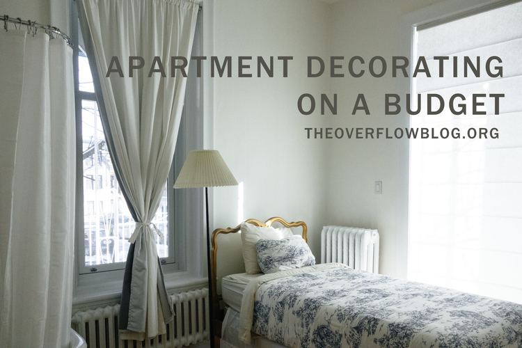 Apartment Decorating on a Budget — The Overflow