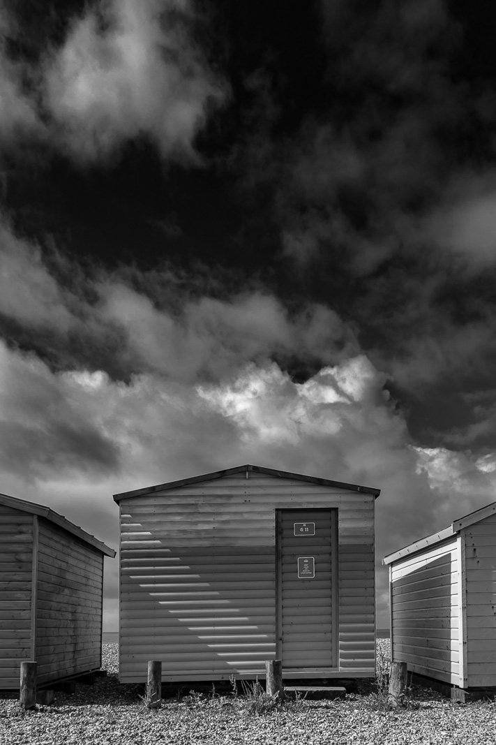 Beach hut on Hayling Island.