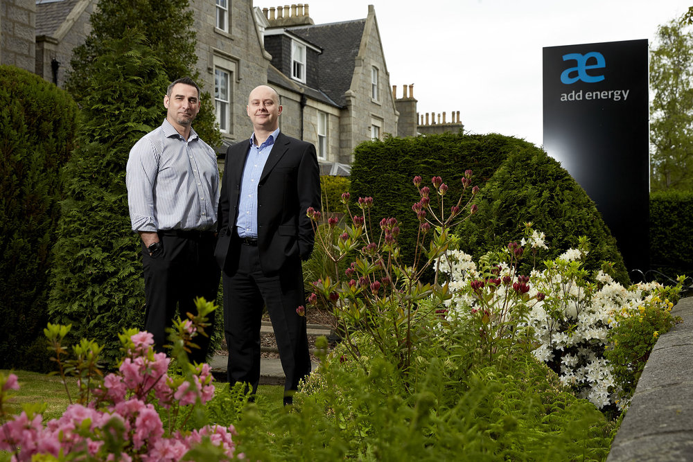 Add Energy (R-L) Project Manager, Damon Bowler and Principal Consultant, Craig Davidson
