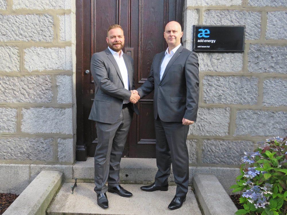 Left to right - Peter Adam, EVP and Damon Bowler, VP of Add Energy – Asset and Integrity Management
