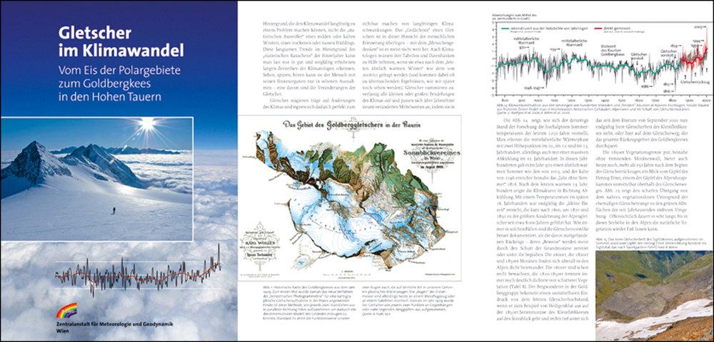 Glaciers in Climate Change, Science and Research, Book for the Zentralanstalt für Meteorologie und Geodynamik, Austria