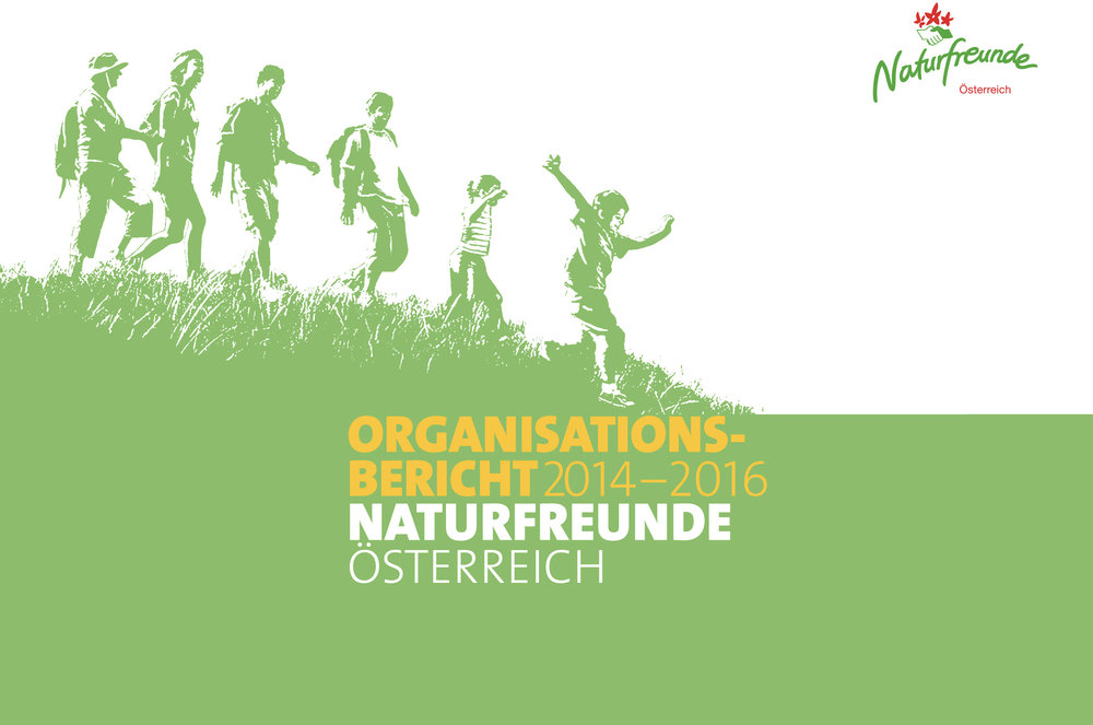Three-Years-Report of Naturfreunde, Austrian Leisure Organisation