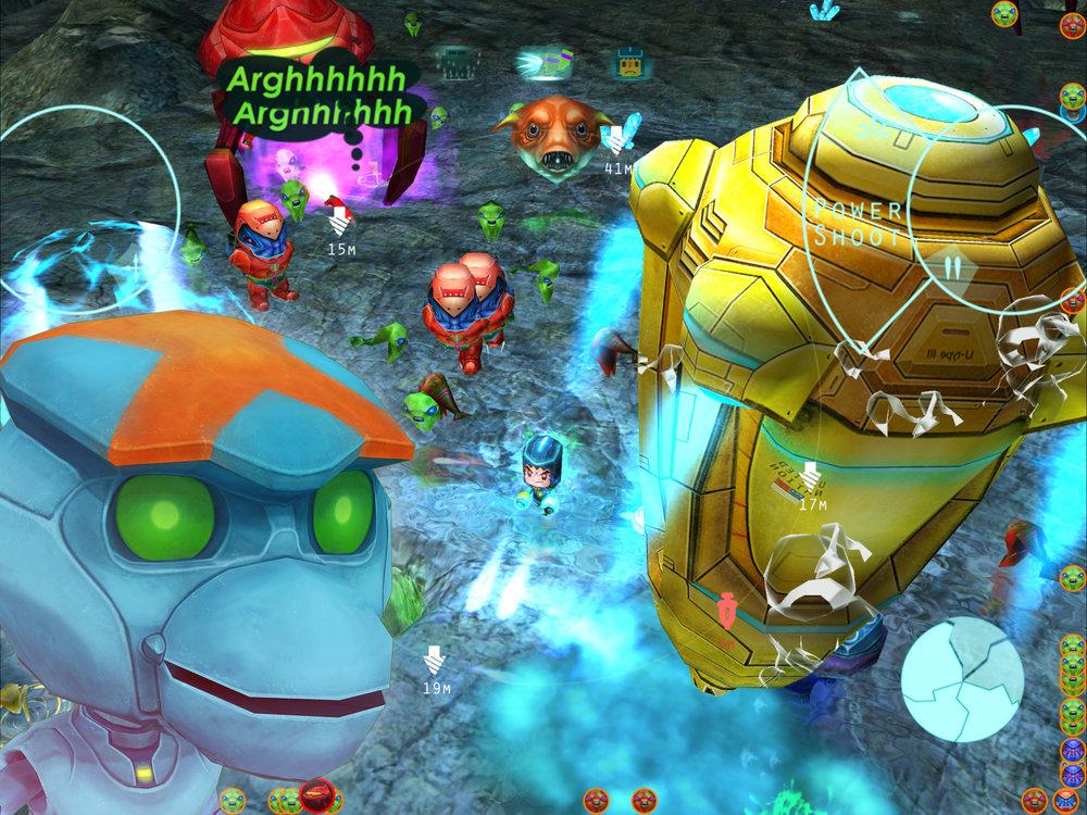 強大的異星鑽塔群,為盜取星球能源蜂涌而來,將與你在戰場上激烈交鋒。