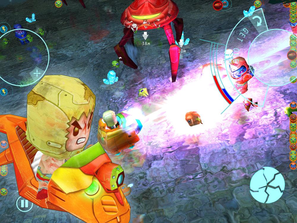 一連串的挑戰中,遊戲提供的各式載具,將會是你的最佳戰友。