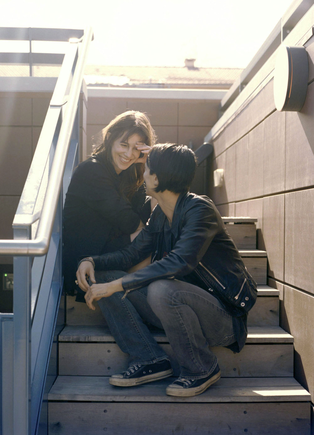 Charlotte Gainsbourg and Asia Argento AnOther.com