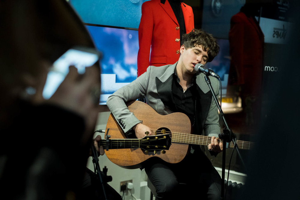 The Vamps play instore at Joshua Kane Bespoke