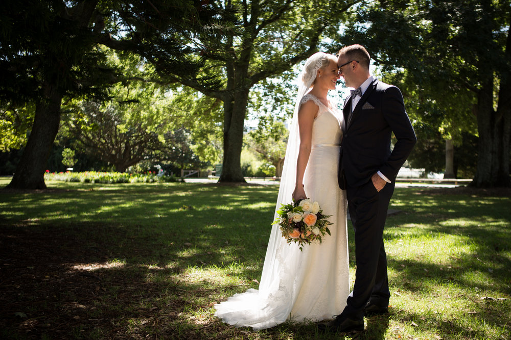 Wedding photographer Auckland photography at Auckland Domain