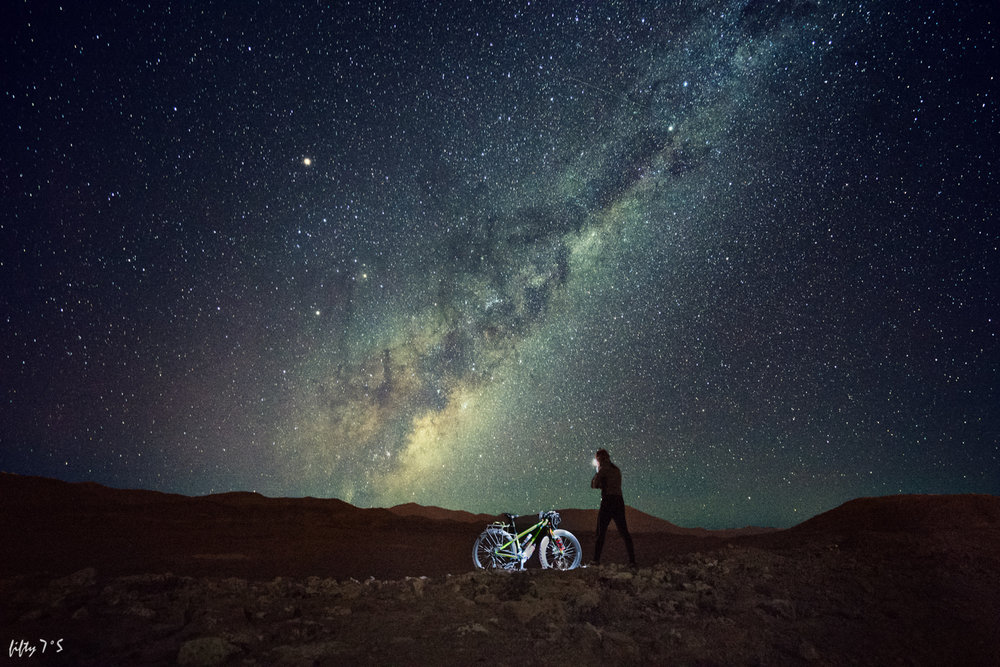 The Milky Way over the Atacama Desert.