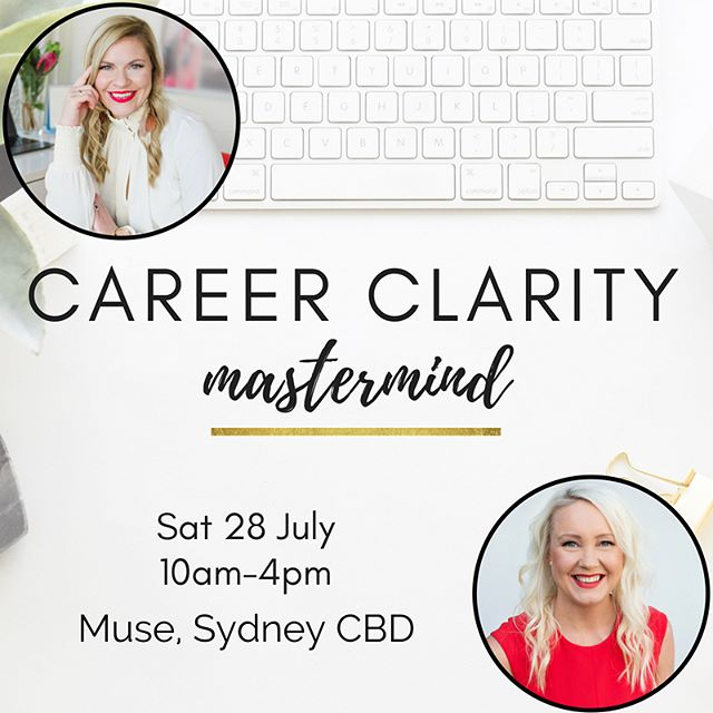 🙊 EARLY-BIRD OFFER EXTENDED!! . Hey lovely, we've extended our early-bird offer until 14 July to make our Career Clarity Mastermind accessible for more of you, as we know how powerful this workshop is going to be to help you decided EXACTLY where you want to go next in your career - or to start an incredible new business that you feel passionate and purposeful about. 🙌🏻 . Life is WAY too short to stay stuck doing work that you don't love 🙅🏼‍♀️ . This workshop is going to help you decide exactly where you want to go next and what will light you up, create a plan to get there, learn from our journeys, get inspired and connect with other amazing, like-minded women. 💕 . The event is strictly limited to a small group to ensure you will get lots of 1:1 support, and the location is a gorgeous space overlooking Surry Hills at http://themuse.com.au/ 😍 . RESERVE YOUR SEAT NOW at www.careerclaritymastermind.com - before the early bird ends! 🎟 (link in profile!) . 💕 #ccm #careerlove #ownyourcareer #investinyourself #michellerobbcoaching