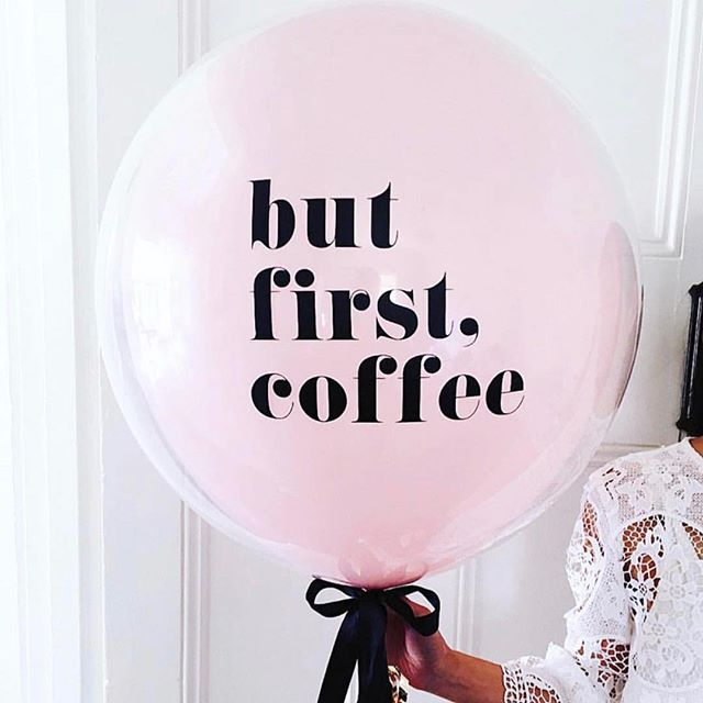 💞 Mondays are fresh starts, setting goals, and brand new beginnings... what will you do with this amazing week?? . Happy Monday beautiful! 💫 . ❤️ #mondaylove #butfirstcoffee #newbeginnings #selflove #michellerobbcoaching [📸 by @littlebigballoonco]