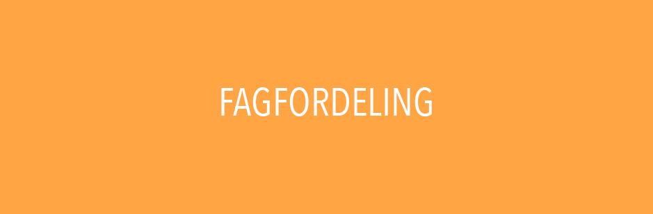 Fagfordeling