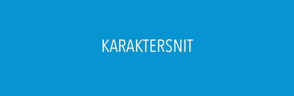 KARAKTERSNIT