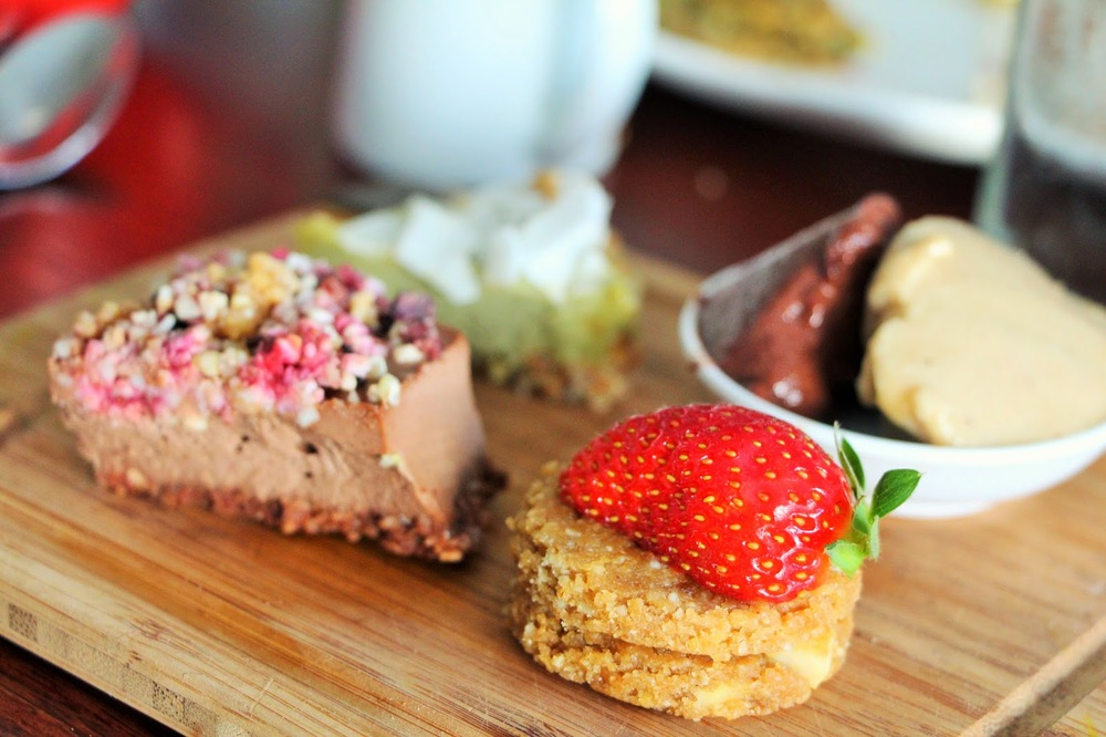 Sadhana's Organic Raw Vegan High Tea