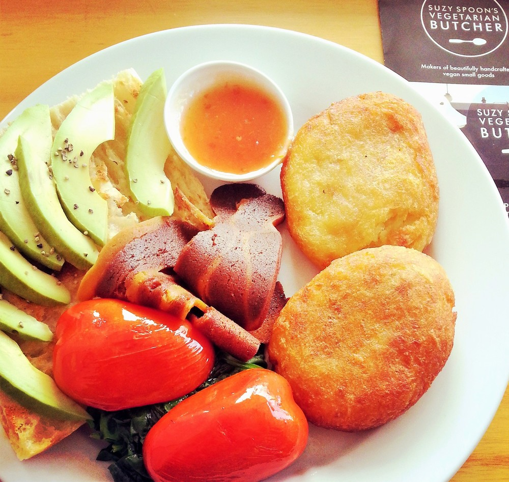 Suzy Spoon's big breakfast