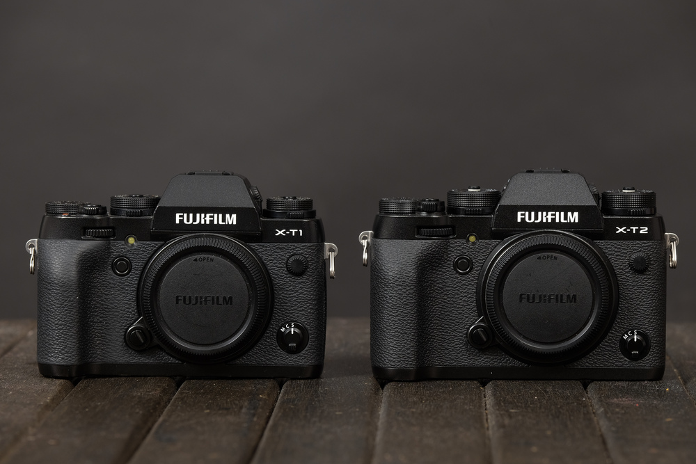 Size difference between X-T1 & X-T2