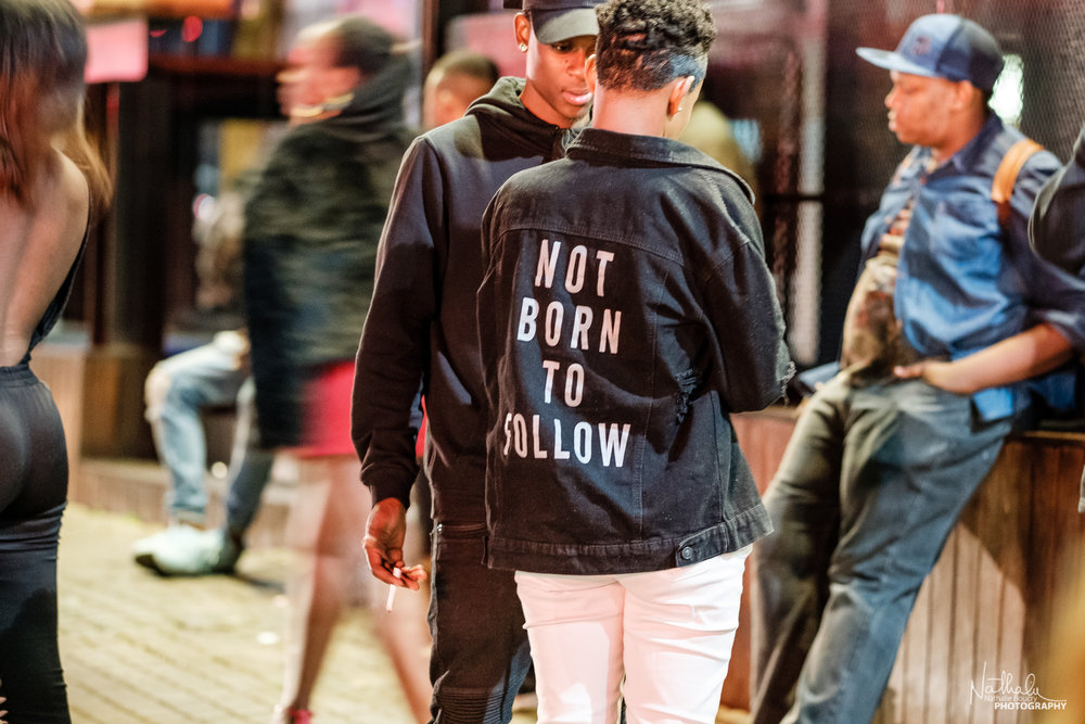 """Image #4: 03:27am """"Not Born to Follow"""""""