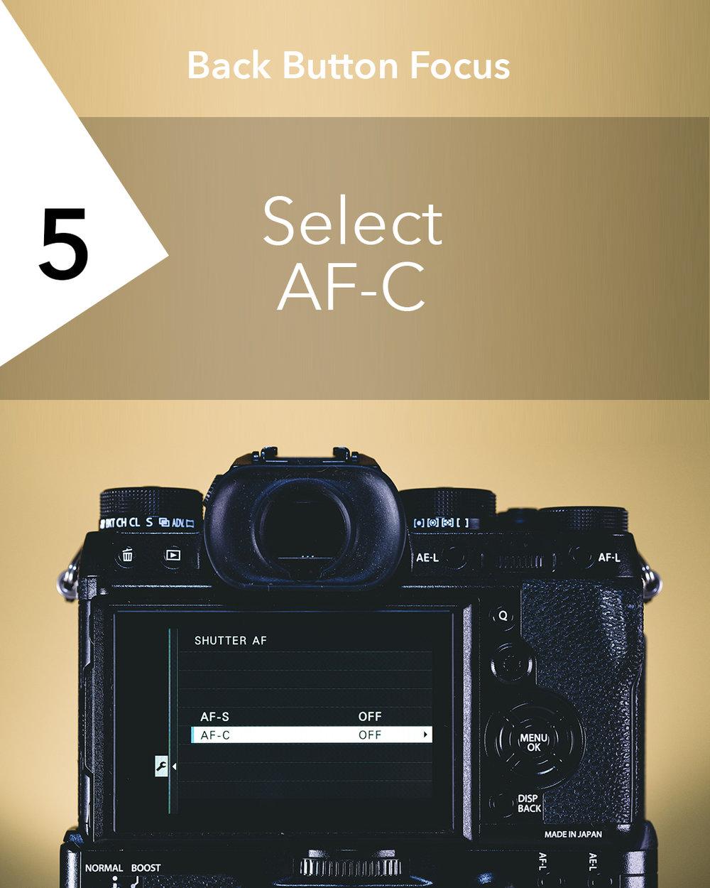 Back Button Focus | X-T2 Setup [05].jpg