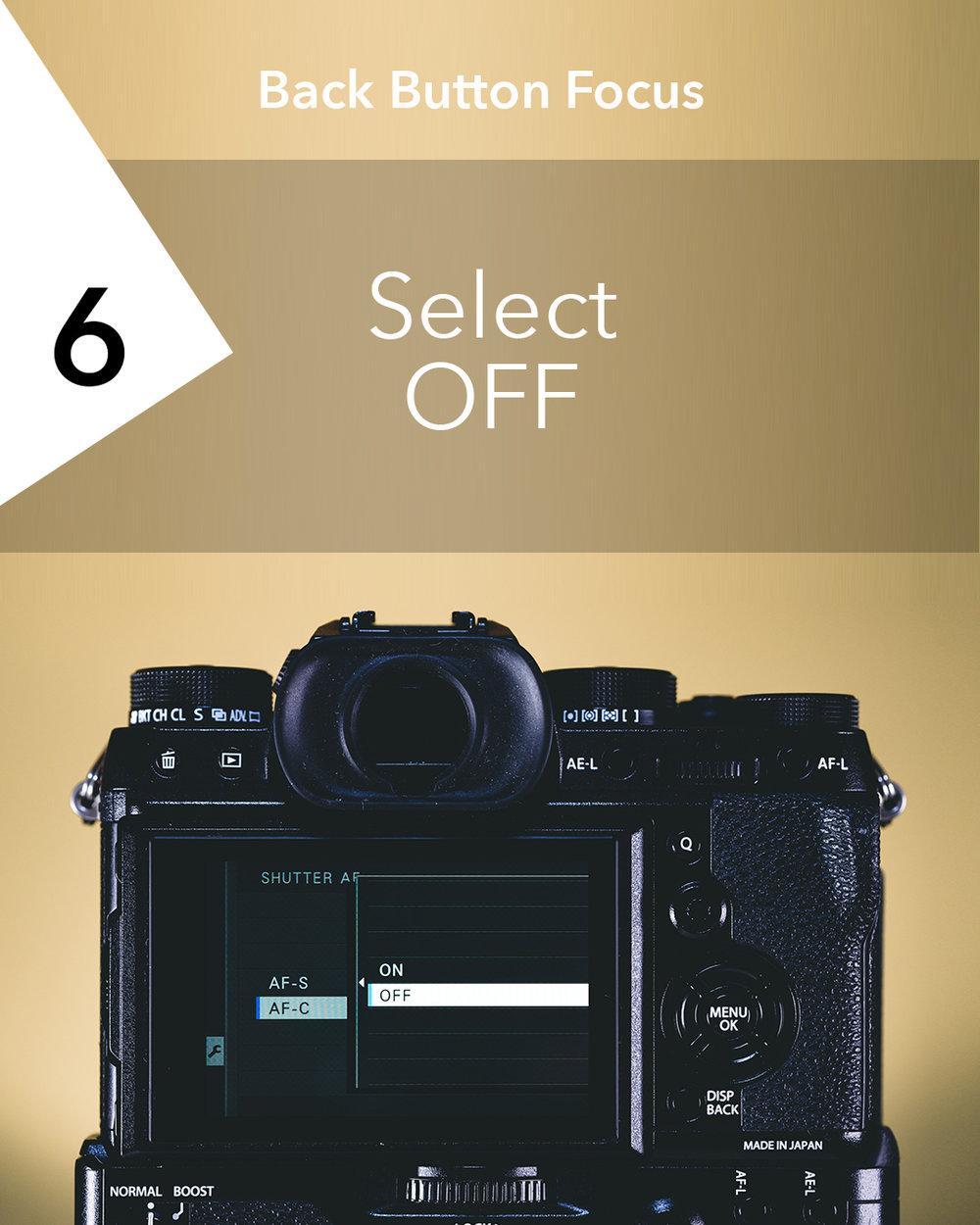 Back Button Focus | X-T2 Setup [06].jpg