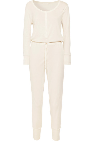 Skin - Dakota Pima cotton-jersey jumpsuit£135